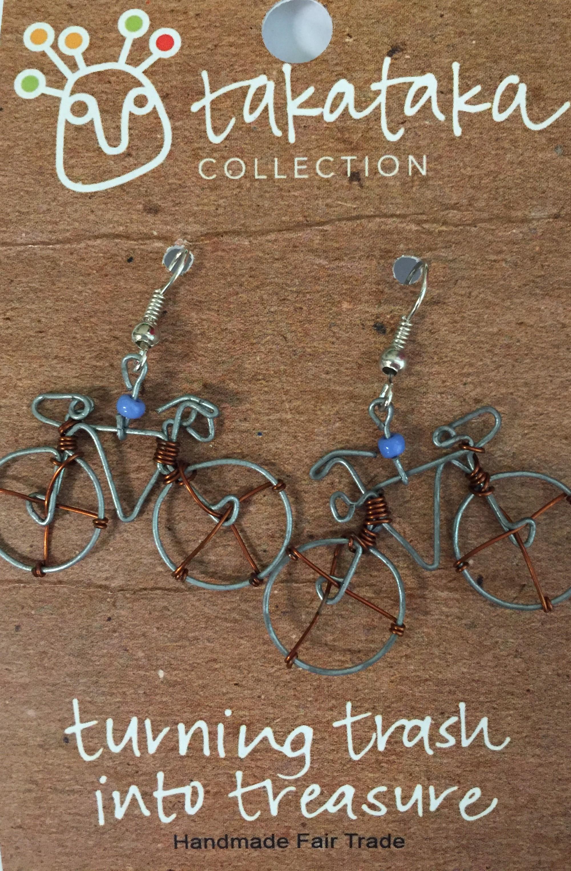 Bicycle Earrings Source